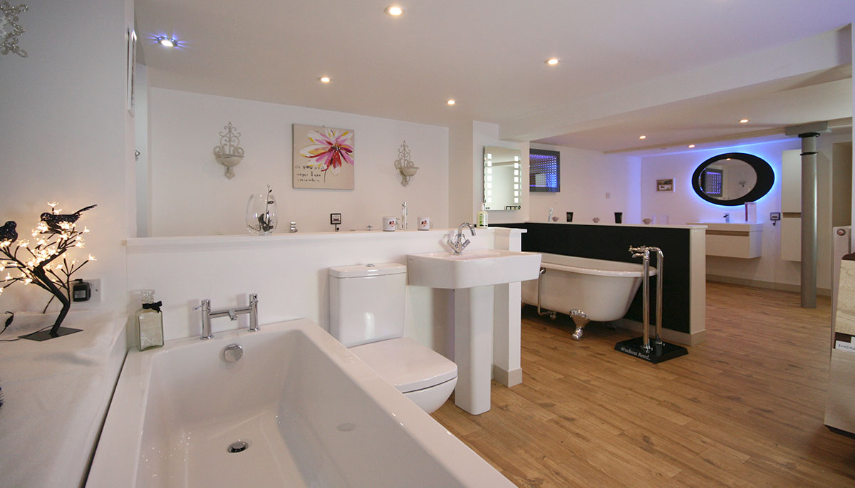 Premier Bathrooms Perth showroom in Perth city centre just off Perth High Street